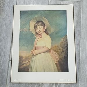 Vintage Ms Willoughby/Romney print